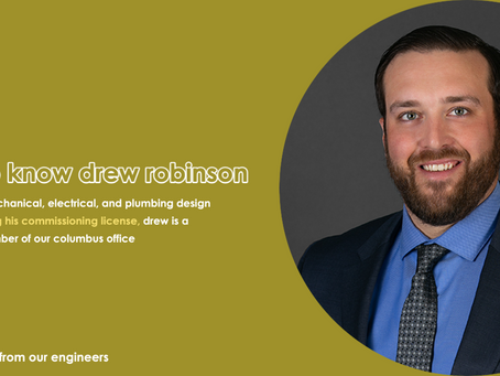 Interview: How Drew Robinson uses  unique background to approach engineering holistically