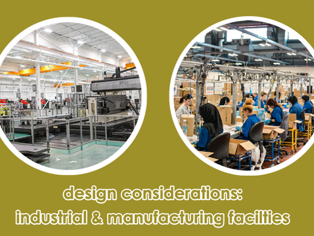 Design Considerations for Industrial and Warehouse Facilities