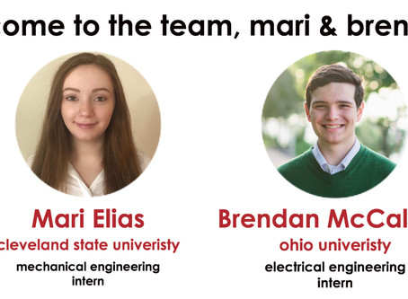 Tec Inc. hires two summer interns in Eastlake office