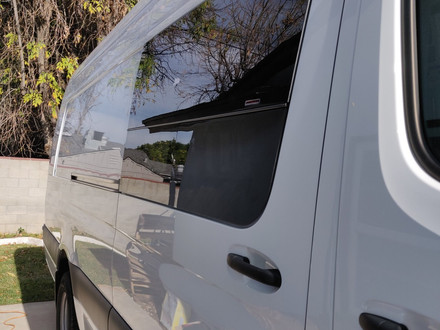 Van Build Diary 3.1: Do the Easiest First - The C.R. Laurence T-Vent Sliding Door Window