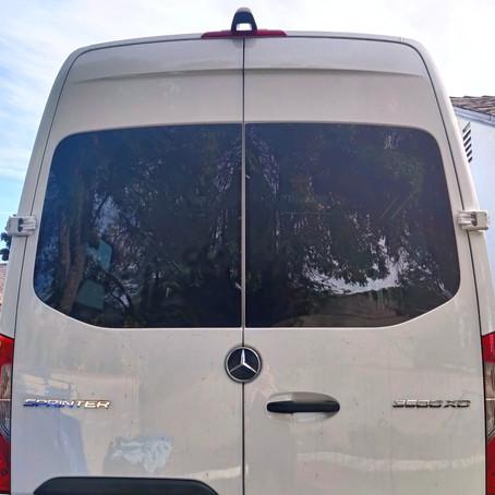 Van Build 3.2: Rear Cargo Door Windows – The Leak, How Not To, & How to Fix...