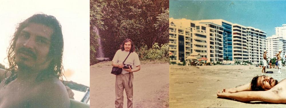 A few difficult to scrounge up photos of Marino's solo travel - Rio Paraná, Argentina, Coroico, Bolivia and Salinas, Ecuador