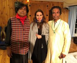 Hindustani singer/composer Deepak Kumar and Kathak Dancer Pandit S.N. Charka