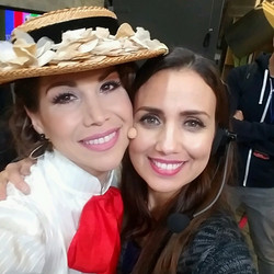 With Broadway star Bianca Marroquin