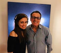 With Legendary salsa Singer Ismael Miranda
