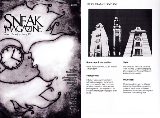 art publication - sneak magazine