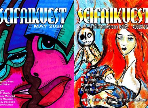 poetry/article publication - scifaikuest