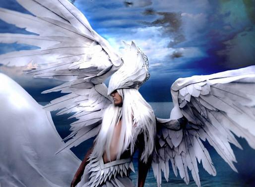 flash fiction publication - angels, a dark drabbles Anthology