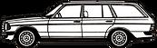W123 T-Modell, W-123-T-Modell, W123, Mercedes, Benz, Mercedes-Benz