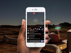 Facebook permite que a TV ao vivo de vídeo 360 graus