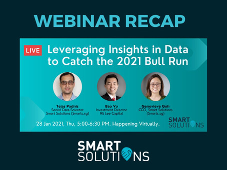 Webinar Recap: Leveraging Insights in Data for 2021 Bull Run & the Role of Machine Learning
