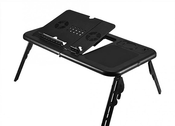 Adjustable Floding Laptop Table StandTray Notebook Desk With USB Cooling Fans
