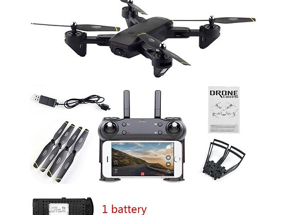 4K HD Wide Angle Drone With Camera Positioning Folding FPV RC Quadcopter