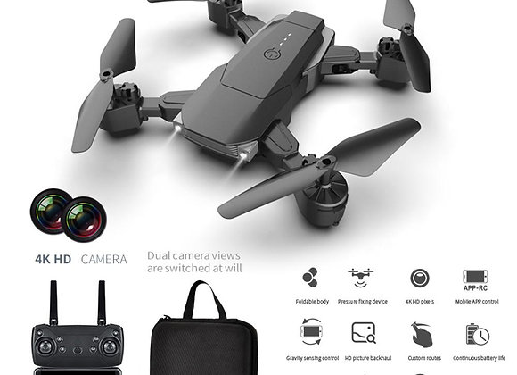 Drone HD Wide Angle 4K WIFI 1080P Drones With Dual Camera Video Live Recording