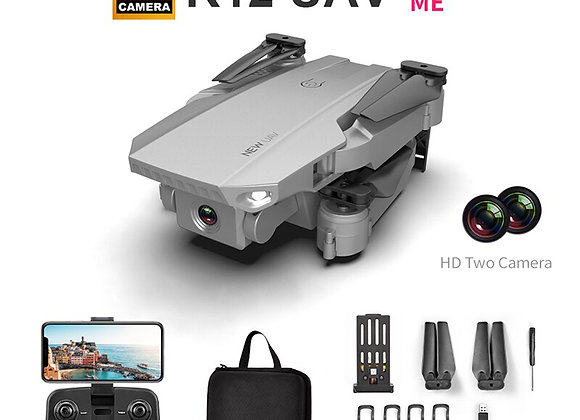 Drone 4K Professional With Camera HD  Optical Flow Positioning  GPS/Wifi