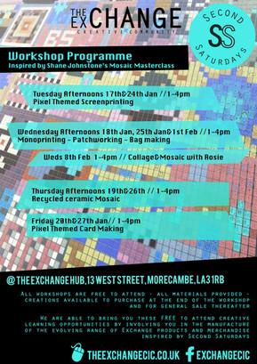 Mosaic Workshop Programme