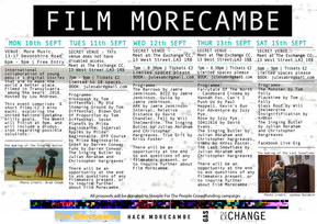 Launch of Film Morecambe