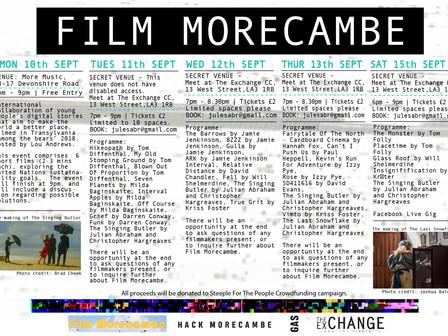 Launch of Film Morecambe