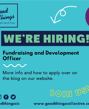 We're hiring! Fundraising and Development Officer