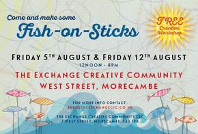 Fish on Sticks