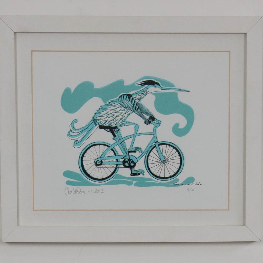 Charlotte Done_Heron on a Bike