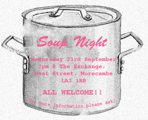 Soup Night - Wednesday 23rd September 2015