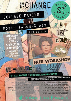 SS Nov16: Collage with Rosie Tacon Glass