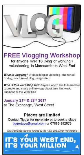 FREE Vlogging Workshop: Book your place now!