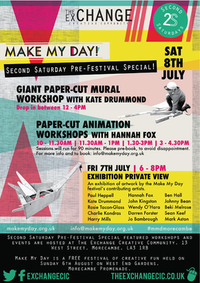 Make My Day: Second Saturday Pre-Festival Special!