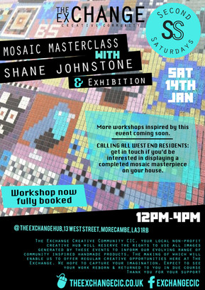 SS Jan17: Mosaic Masterclass with Shane Johnstone