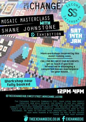 SS Jan17: Mosaic Masterclass with Shane Johnstone