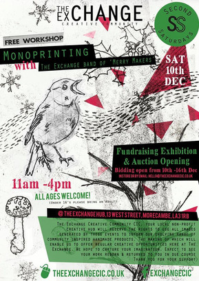 SS Dec16: Monoprinting and Auction