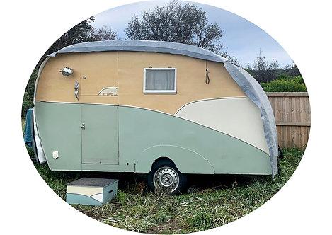 Retro Caravan Covers