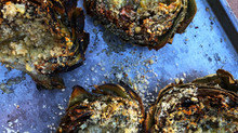 Grilled Artichokes are a cinch to make!