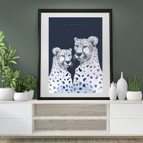 Cheetah Print (60.5 x 91cm)