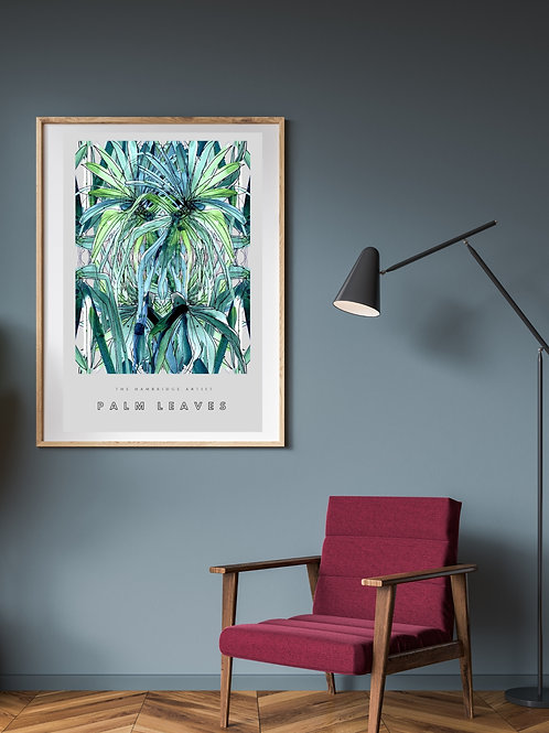 Palm Leaves (2020) Botanical Art Print