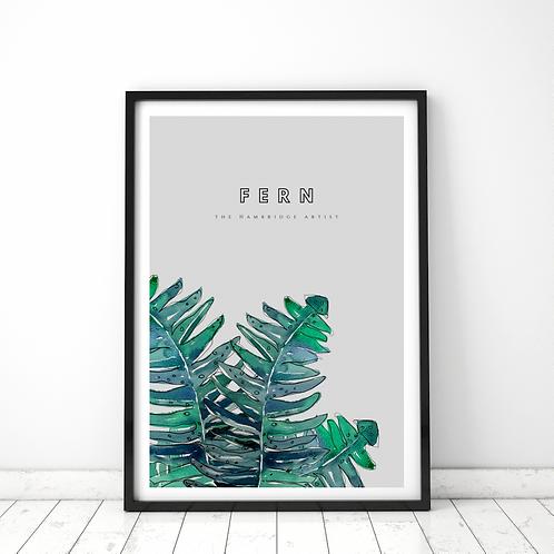 Fern Botanical Art Print