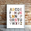 Thumbnail: Animal Alphabet Little Art Print
