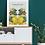Thumbnail: Pineapples Tropical Art Print