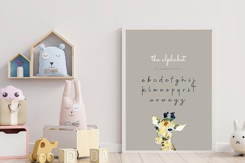 Little Giraffe Alphabet