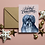Thumbnail: Christmas Pets Package (Framed Print, signed mount and set of Festive Notecards)