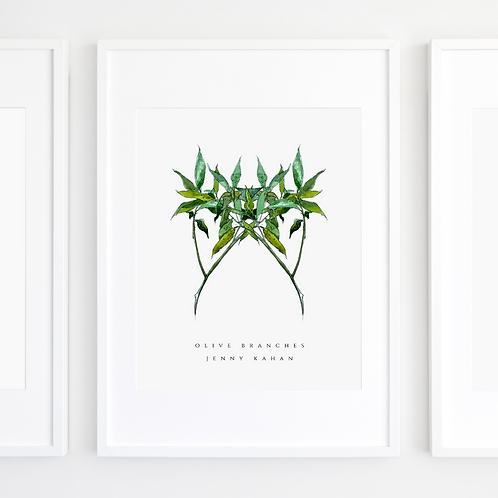 Olive Branches by Jenny Kahan