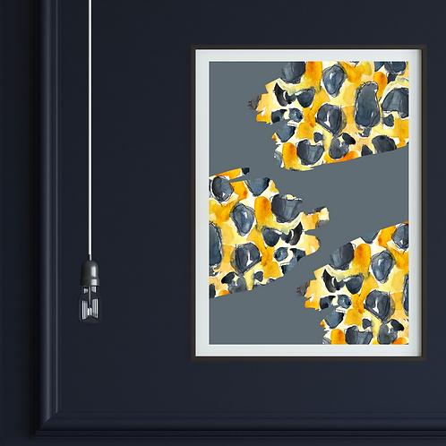 Animal Splashes Print