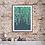 Thumbnail: NEW Trailing Leaves (2021) Botanical Art Print
