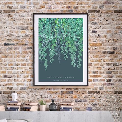 NEW Trailing Leaves (2021) Botanical Art Print
