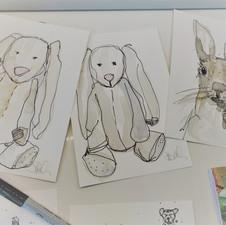 Animal Artwork in Progress