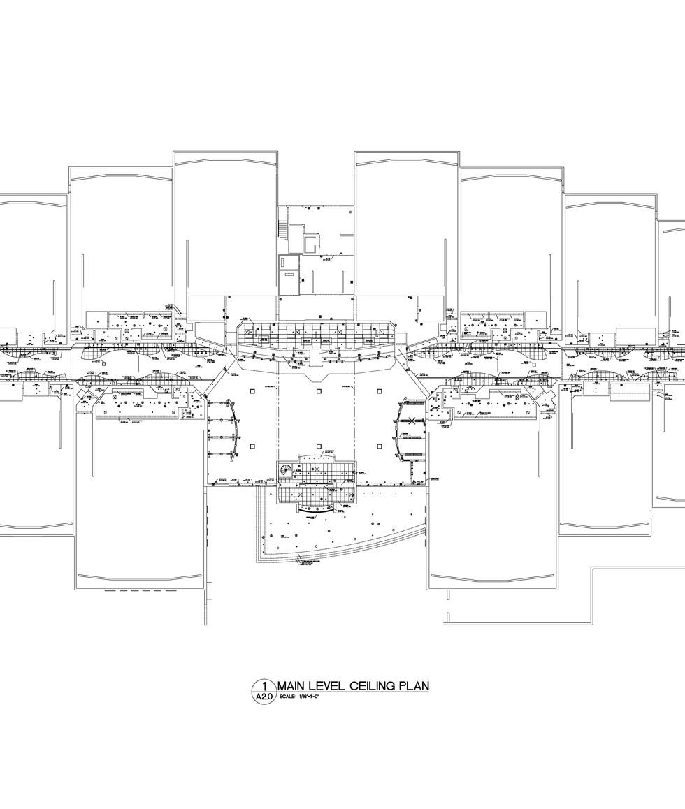Main Level Ceiling Plan A2.0