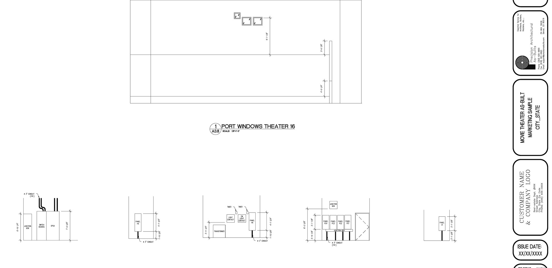 Interior Elevations A3.8