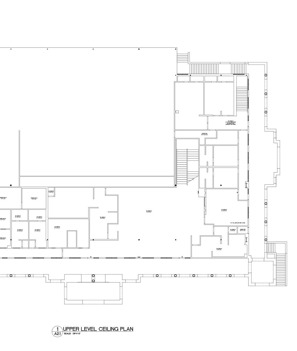 Upper Level Ceiling Plan A2.1