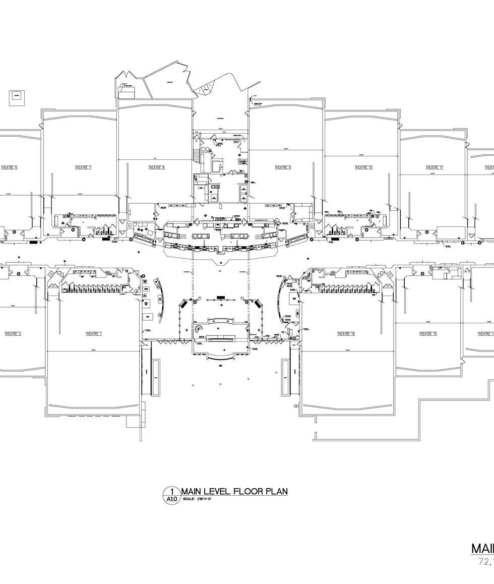 Main Level Floor Plan A1.0